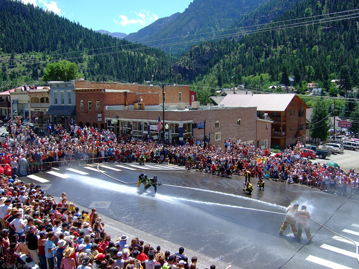 Ouray Water Fights