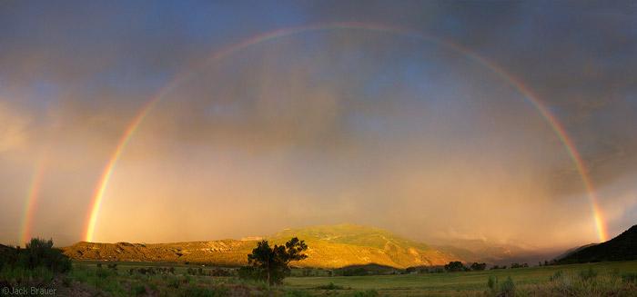 Rainbow over Ridgway, Colorado