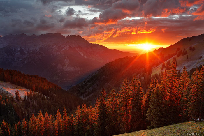 Uncompahgre Sunset, Colorado
