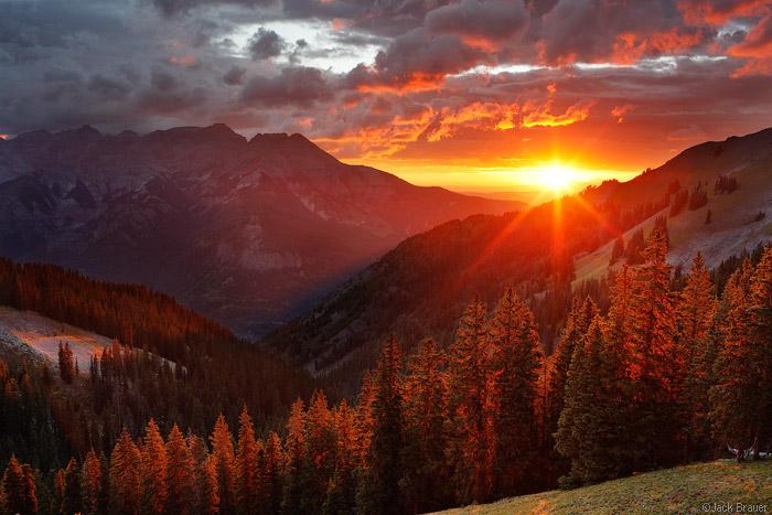 Uncompahgre Sunset, Colorado