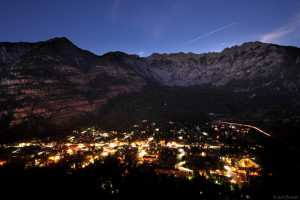 Space Station over Ouray, Colorado