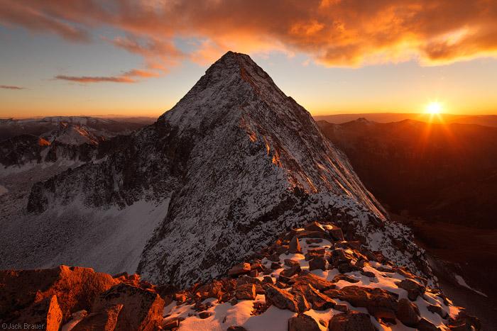 Capitol Peak, Elk Mountains, Colorado
