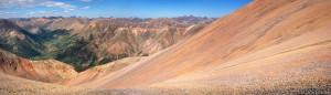 Redcloud Peak panorama