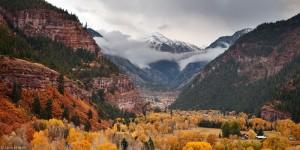 Autumn in Ouray, Colorado