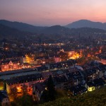 Evening in Freiburg, Germany