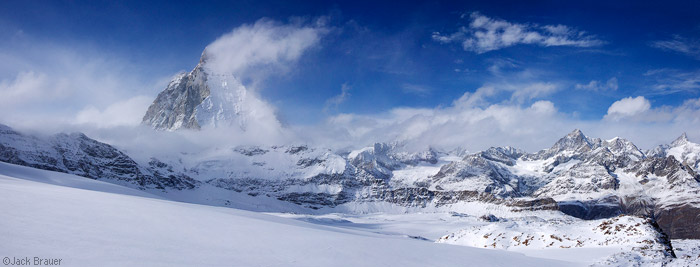 Matterhorn panorama, Switzerland