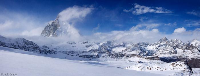 Matterhorn panorama, Switzerland