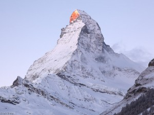 Sunrise on the Matterhorn, Switzerland