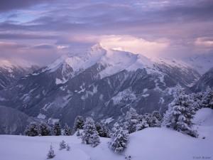 winter in Mayrhofen, Austria