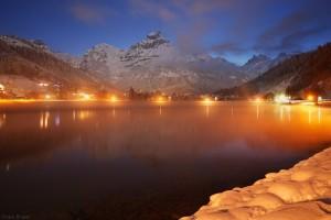 Dawn in Engelberg, Switzerland