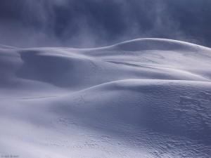 Snow drifts in Switzerland