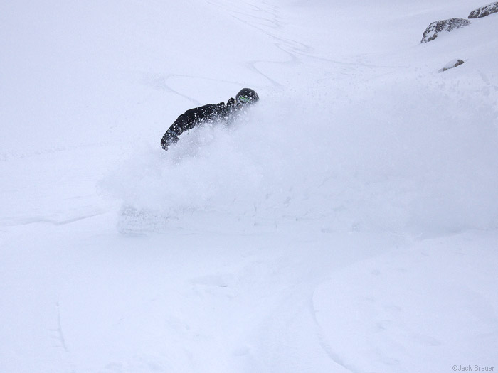 Deep powder in Switzerland