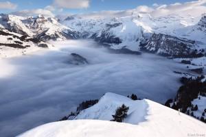 Engelberg, Switzerland from Salistock