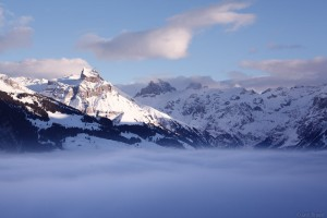 Hahnen above the clouds