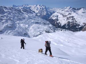 Skiing Schafberg, Engelberg, Switzerland