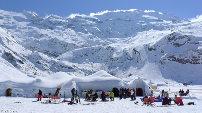 Igloo bar, Titlis, Engelberg, Switzerland
