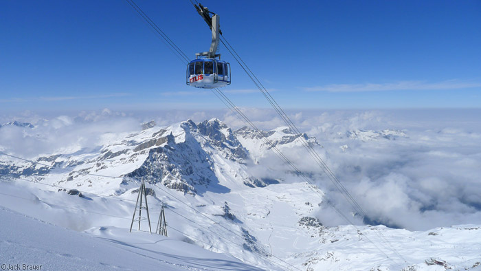 Titlis Rotair, Engelberg, Switzerland