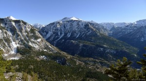 Ouray, Colorado in May