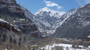Ouray, Colorado - snowy in May