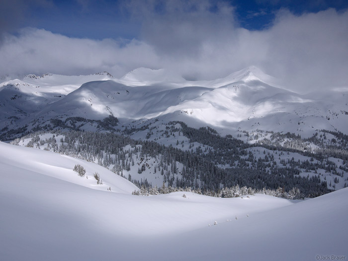 Snowy San Juan Mountains, Colorado