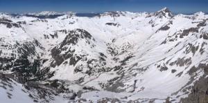 Yankee Boy Basin and Mt. Sneffels, June 2011