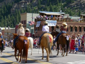 4th of July parade in Ouray, Colorado