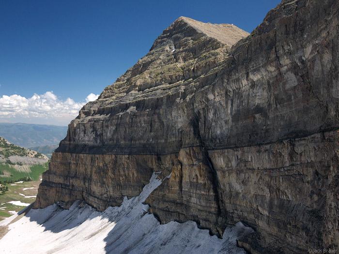 The summit of Mt. Timpanogos, Utah