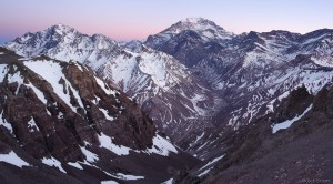 Aconcagua dawn, Argentina