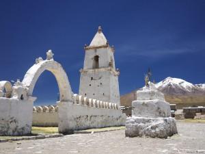 Iglesia at Isluga, northern Chile