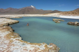 Polloquere hot springs, Chile