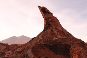 Surreal rock formations in northern Chile