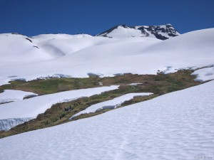Camping in Valle de Aguas Calientes, Chile