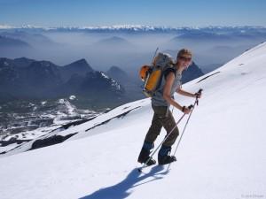Hiking Vulcan Villarrica, Pucon, Chile