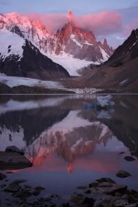 Cerro Torre reflection, Argentina, Patagonia