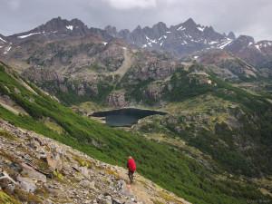 Dientes de Navarino trekking, Chile