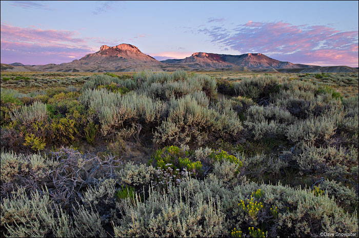 Oregon Buttes Sunrise