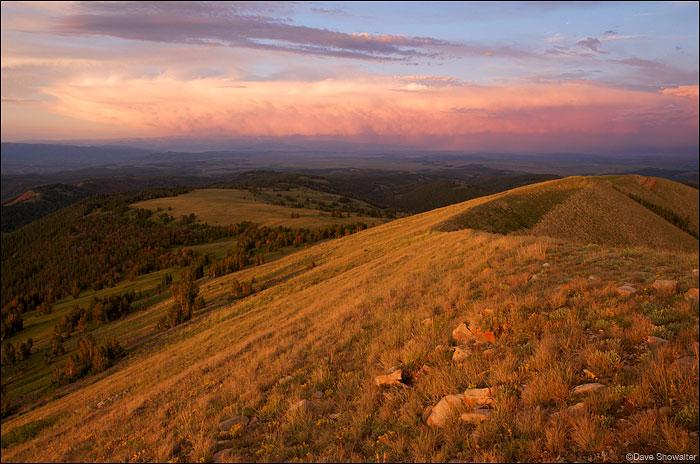 Lookout Peak Sunset