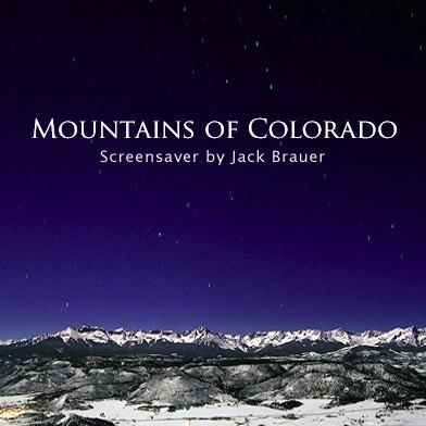 Mountains of Colorado Screensaver