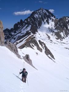 Hiking Gilpin Peak, San Juans, Colorado