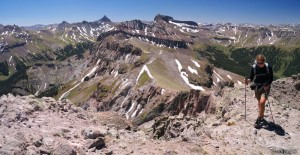 Hiking to the summit of Precipice Peak, Colorado