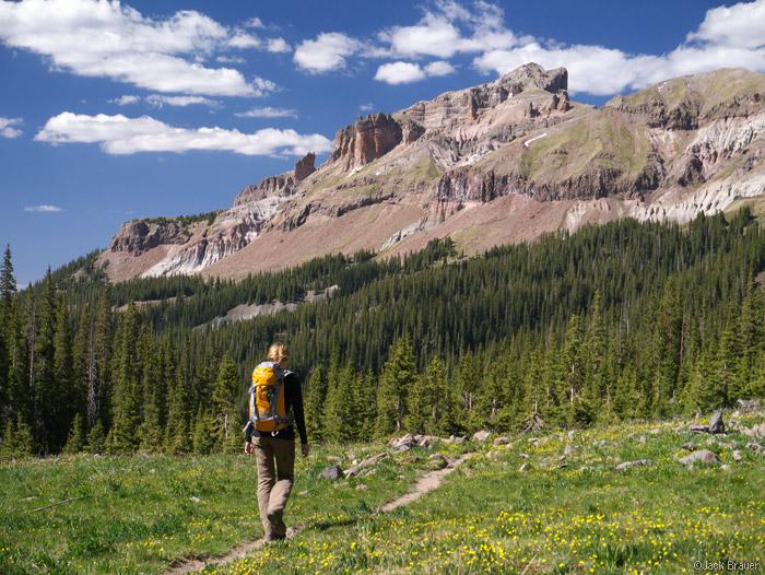 Precipice Peak, San Juans, Colorado