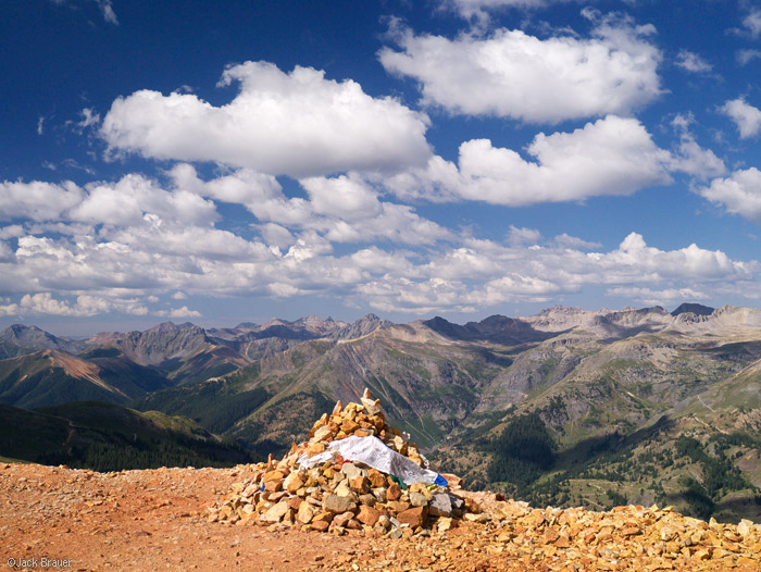 Red Mountain summit, San Juans, Colorado