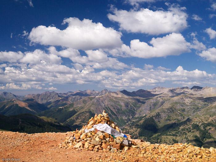 Red Mountain summit, San Juans, Colorado
