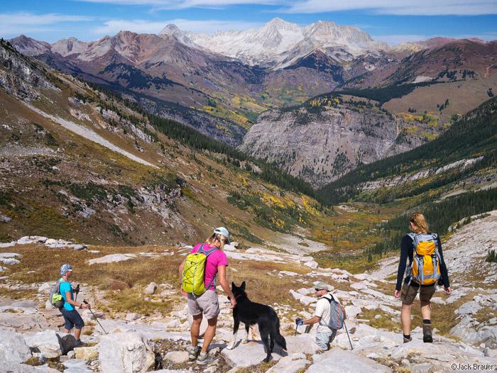 Hiking Treasure Mountain, Colorado
