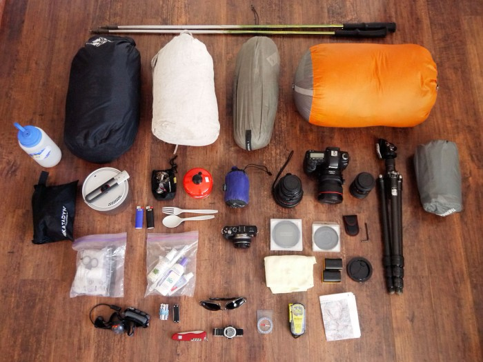 My Backpacking Gear Mountain Photographer A Journal By