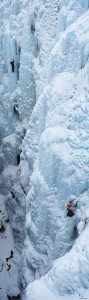 Ouray Ice Park climbers, Colorado