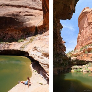 Owl Creek Canyon pools