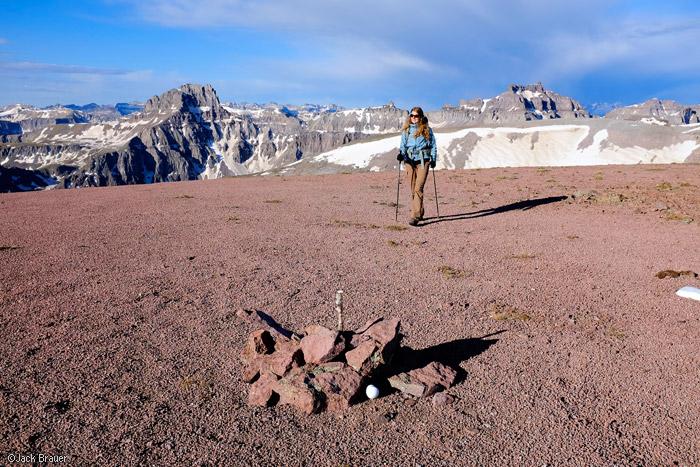 Summit of Whitehouse Mountain