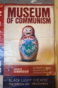 Museum of Communism poster, Prague