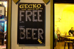 Free Wifi, Great Beer
